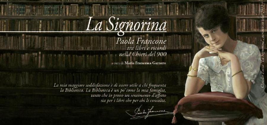 La Signorina. Paola Francone